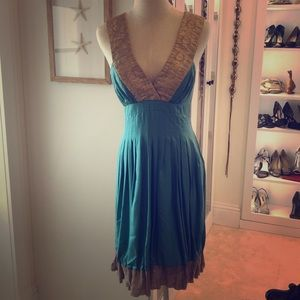 Gorgeous Nicole Miller silk sundress for parties